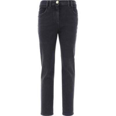 バルマン Balmain レディース ジーンズ・デニム ボトムス・パンツ Five Pockets Denim Pants Black