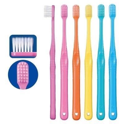 歯ブラシ Ci PRO FOUR 4列歯ブラシ MS やややわらかめ 25本セット テーパー毛(メール便1点まで)
