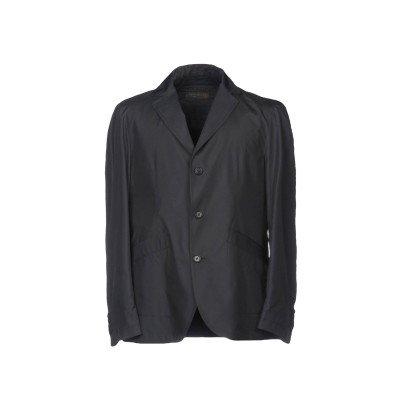 CORNELIANI ID テーラードジャケット ダークブルー 50 ポリエステル 100% テーラードジャケット