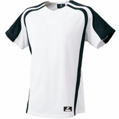 エスエスケイ(SSK) 1ボタンプレゲームシャツ SSK-BW0906 1090 【野球 ユニホーム セカンダリー】