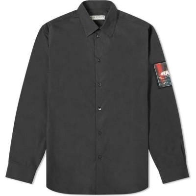 ジバンシー Givenchy メンズ シャツ トップス Sketch Logo Shirt Black