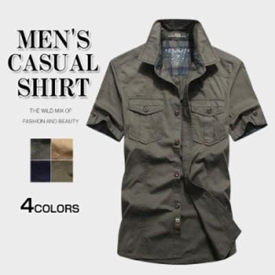 シャツ メンズ 夏 半袖 ボタンダウンシャツ カジュアルシャツ ワイシャツ カジュアルビジネス 半袖シャツ ボタンダウン 新作