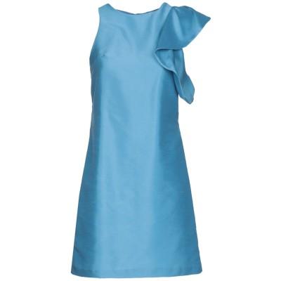 メルシー ..,MERCI ミニワンピース&ドレス アジュールブルー 44 ポリエステル 55% / ナイロン 45% ミニワンピース&ドレス