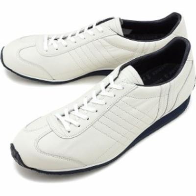 パトリック PATRICK 日本製 パミール・ウォータープルーフ PAMIR-WP メンズ・レディース 防水レザー スニーカー 靴 WHT ホワイト系 [5301
