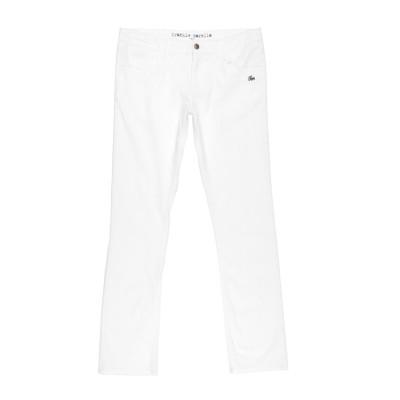 フランキー モレロ FRANKIE MORELLO パンツ ホワイト 16 コットン 98% / ポリウレタン 2% パンツ