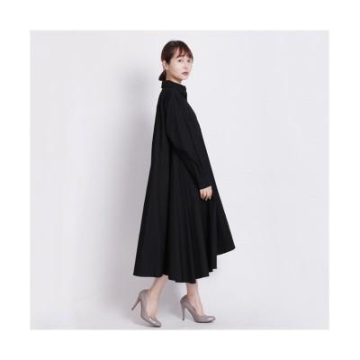 MARTHA(マーサ)アシンメトリーヘムシャツワンピース (ワンピース)Dress