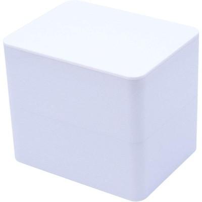 ビッテ トイレ 除菌 掃除 シート ケース 容器 ボックス ホワイト 15.4×11.9×13.3cm 667toi_cl_w