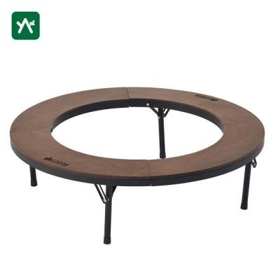 ロゴス 円形 アイアンウッド囲炉裏サークルテーブルL 81064106