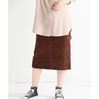 (Honeys/ハニーズ)コーデュロイスカート/レディース ブラウン