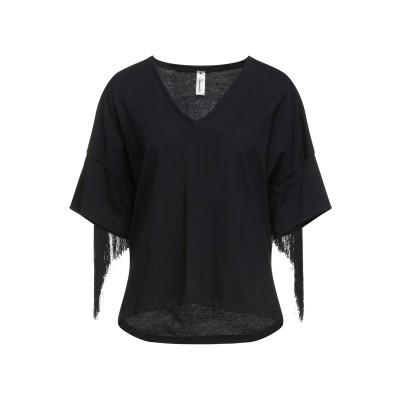 スーベニア SOUVENIR T シャツ ブラック M コットン 100% T シャツ