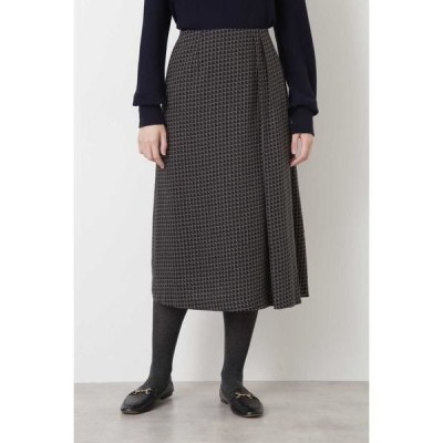 HUMAN WOMAN / ヒューマンウーマン ◆コットンレクセルビエラプリントスカート