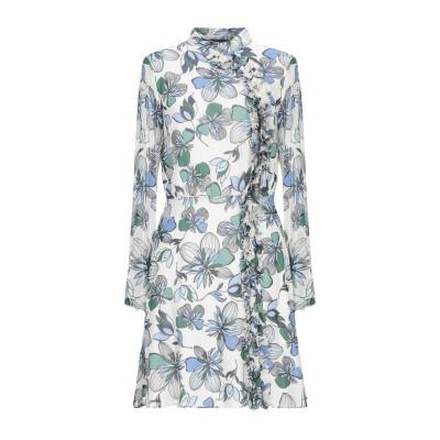 アトス ロンバルディーニ ATOS LOMBARDINI ミニワンピース&ドレス アイボリー 40 レーヨン 100% ミニワンピース&ドレス