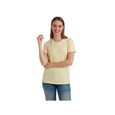 ラッキーブランド Short Sleeve Crew Neck Essential Printed Tee レディース シャツ トップス Yellow Multi