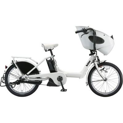 ブリヂストン 電動アシスト自転車 bikke POLAR e BP0C40 E.XBKホワイト
