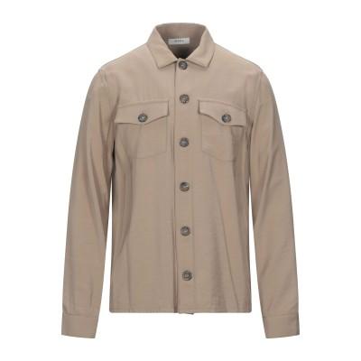 アルファスタジオ ALPHA STUDIO シャツ キャメル 52 レーヨン 90% / ポリエステル 10% シャツ