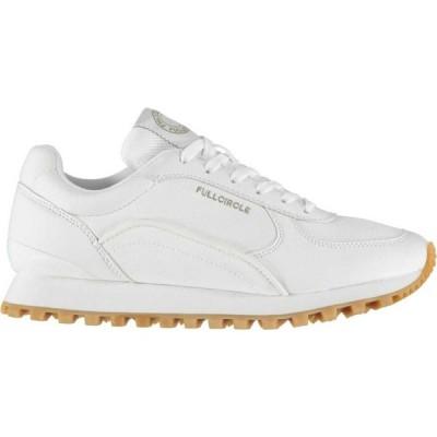 フルサークル Full Circle レディース スニーカー シューズ・靴 Tegel Trainers White