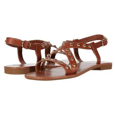 Marc Fisher LTD Fianna レディース サンダル Medium Brown Leather
