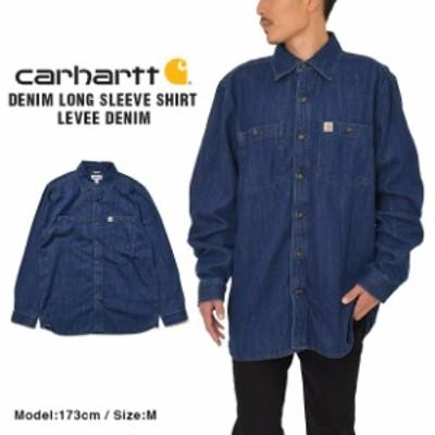 カーハート デニムシャツ CARHARTT ワークシャツ メンズ