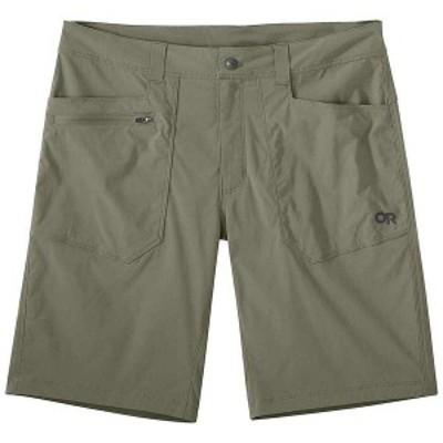 アウトドアリサーチ メンズ ハーフパンツ・ショーツ ボトムス Outdoor Research Men's Equinox 10 Inch Short Flint