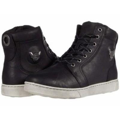 Harley-Davidson ハーレーダビッドソン メンズ 男性用 シューズ 靴 スニーカー 運動靴 Bateman 5 Metal Black【送料無料】