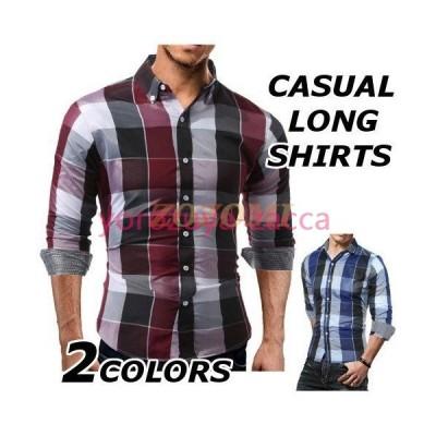 カジュアルシャツ メンズ 長袖 おしゃれ ブランド 柄 シャツ 長袖シャツ 長袖シャツ トップス 夏 秋 大きいサイズ  40代 50代