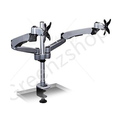 Mount-It! Expandable Two Monitor Computer Desk Mount Spring Arm Quick Release (MI-45116) by Mount-It!