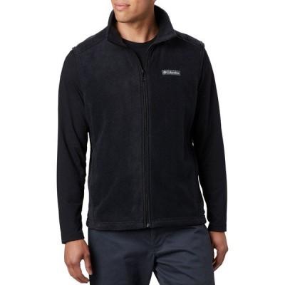 コロンビア ジャケット&ブルゾン アウター メンズ Columbia Men's Steens Mountain Fleece Vest Black