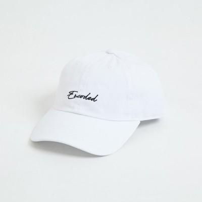 【即納】エンコーデッド ENCODED メンズ キャップ 帽子 ENBROIDERY STREAM CAP white