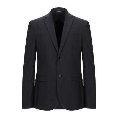 OFFICINA 36 テーラードジャケット ダークブルー 54 ポリエステル 54% / バージンウール 44% / ポリウレタン 2% テーラー