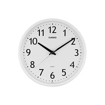 CASIO(カシオ) 掛け時計 ホワイト 直径25.4cm アナログ IQ-58-7JF