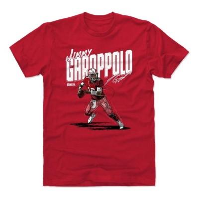 NFL Tシャツ ジミー・ガロポロ 49ers Chisel T-Shirts 500LEVEL レッド