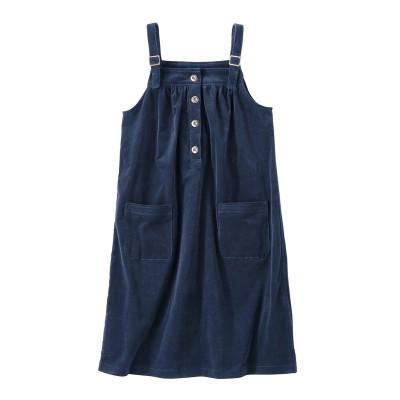 【大きいサイズ】 コーデュロイジャンパースカート ワンピース, plus size dress