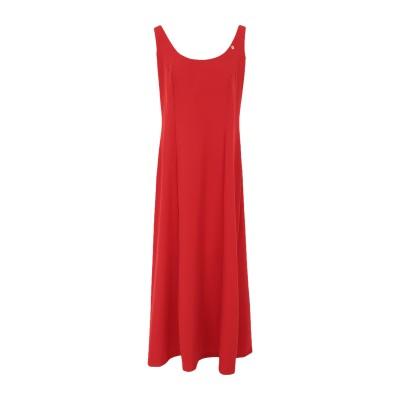 FLY GIRL 7分丈ワンピース・ドレス レッド S ポリエーテル 95% / ポリウレタン 5% 7分丈ワンピース・ドレス