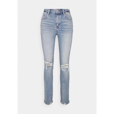 アメリカンイーグル デニムパンツ レディース ボトムス HI RISE SKINNY - Jeans Skinny Fit - authentic light