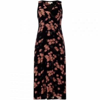 マイケル コース MICHAEL Michael Kors レディース ワンピース スリップドレス ワンピース・ドレス High waisted textured slip dress Bl