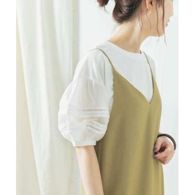 tシャツ Tシャツ 【WEB限定】TORRAZZO DONNA パフスリーブトップス