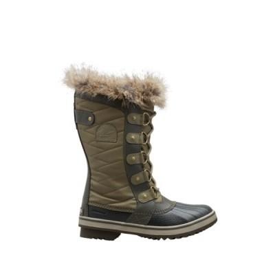 ソレル レディース ブーツ&レインブーツ シューズ Tofino II Faux Fur Trim Waterproof Boot SAGE