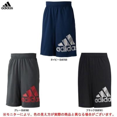 adidas(アディダス) B TRN CLIMACOOL グラフィックBOS ジュニアハーフパンツ(FTJ76)スポーツ トレーニング パンツ ジュニア