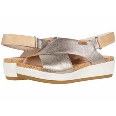 Pikolinos レディース 女性用 シューズ 靴 ヒール Mykonos W1G-0757CLC1 Stone【送料無料】