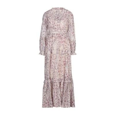 ISABEL MARANT ÉTOILE ロングワンピース&ドレス アイボリー 38 コットン 100% ロングワンピース&ドレス