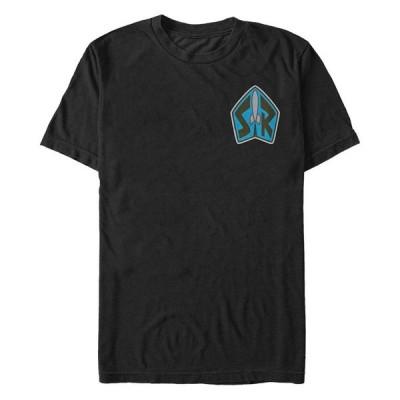 フィフスサン Tシャツ トップス メンズ Toy Story Men's Space Ranger SR Badge Short Sleeve T-Shirt Black