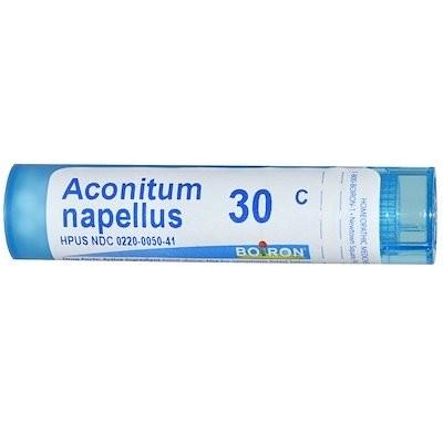 Aconitum Napellus, 30C, 約 80 粒