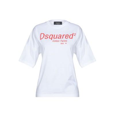 ディースクエアード DSQUARED2 T シャツ ホワイト M コットン 100% T シャツ