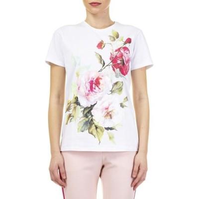 ブルーガール トップス レディースBlugirl T-shirtWHITE