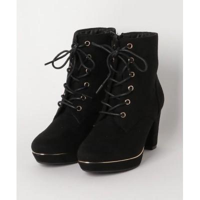 Xti Shoes / SG 編み上げ ストーム使いショートブーツ WOMEN シューズ > ブーツ