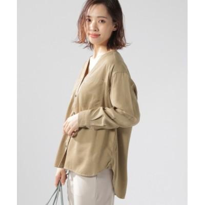 BAYFLOW / 2WAYシャツ (テンセル(TM)繊維使用) WOMEN トップス > シャツ/ブラウス