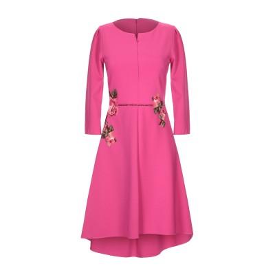 VDP COLLECTION ミニワンピース&ドレス フューシャ 42 ナイロン 80% / ポリウレタン 20% ミニワンピース&ドレス