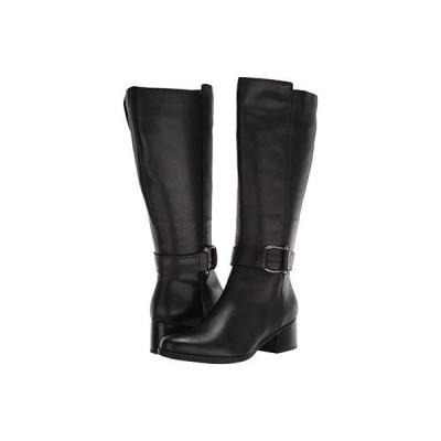 ナチュラライザー Daelynn Wide Calf レディース ブーツ Black Leather