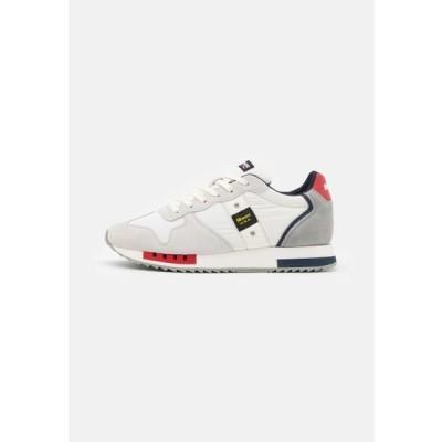 ブラウアー メンズ 靴 シューズ QUEEN - Trainers - white/red/navy