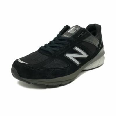 スニーカー ニューバランス NEW BALANCE M990BK5 ブラック/シルバー NB メンズ シューズ 靴 19SS